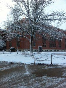 Winter in Cedar Rapids, Iowa